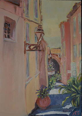 Painting - Ville Franche by Julie Todd-Cundiff
