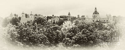 Photograph - Vilnius Lithuania Panorama 4 by Rudi Prott