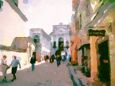 Old Town Digital Art - Vilnius Old Town 10 by Yury Malkov