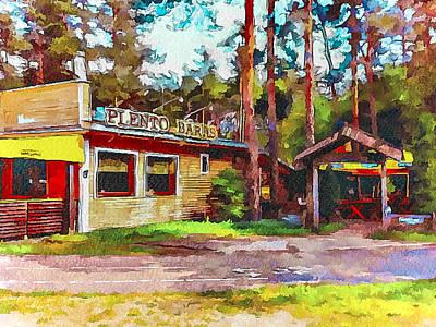 Vilnius Pleno Bar Restaurant Art Print