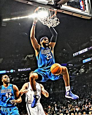 Shooting Guard Painting - Vince Carter by Florian Rodarte