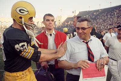 Vince Lombardi Congratulated Art Print by Retro Images Archive