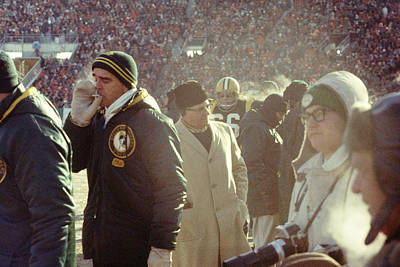 Vince Lombardi On The Sideline Art Print by Retro Images Archive