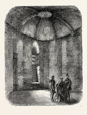 Vincennes Drawing - Vincennes, Cell Polignac by Litz Collection