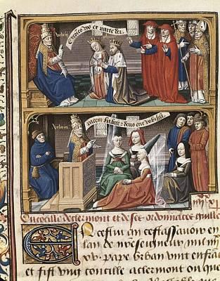 Vincent Of Beauvais 1190-1264. Speculum Art Print