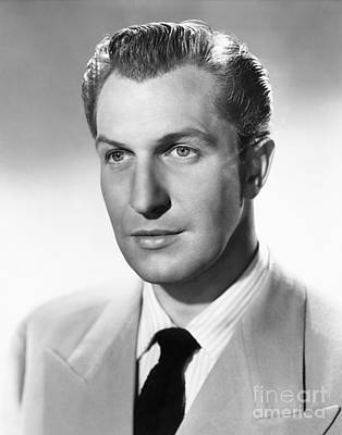 Vincent Price Art Print by MMG Archives
