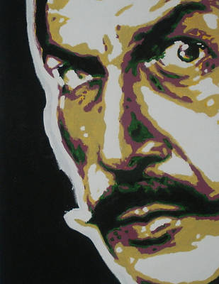 Vincent Price Painting - Vincent Price by Sic  individual