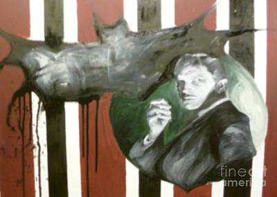Vincent Price Painting - Vincent Price-the Bat by Isobelle Rothery-Smith