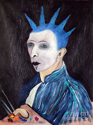 Vincent Van Goth Art Print by Gerhardt Isringhaus