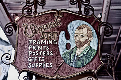 Photograph - Vincent's by Barry Cole