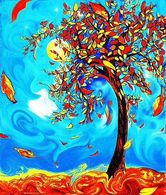 Vincent's Tree Art Print