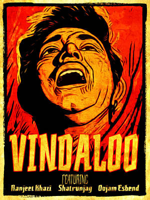 Vindaloo Art Print by Duncan Roberts