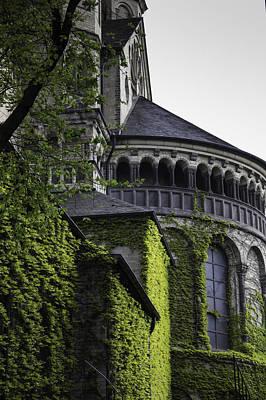 Vine Covered Church Cologne Art Print
