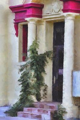 Vine Hugger  Art Print by L Wright