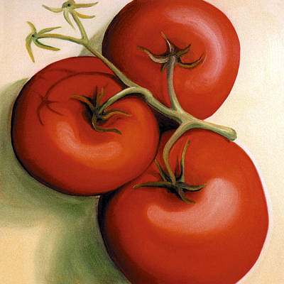 Painting - Vine Ripe by Laura Dozor