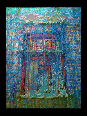 Digital Art - Vined Window by Zac AlleyWalker Lowing
