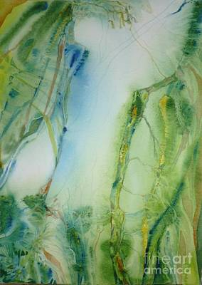 Painting - Vines by Donna Acheson-Juillet