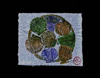 Vineyard Bay Scallops  Art Print