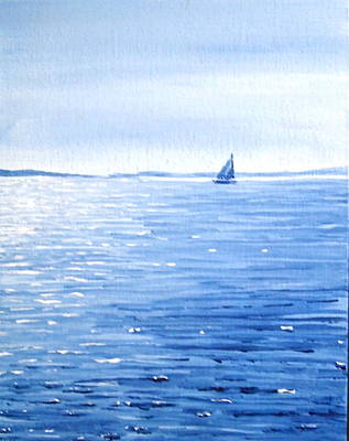Cape Cod Drawing - Vineyard Bound by Greg Lindberg