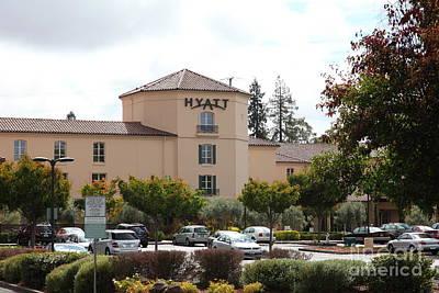 Vineyard Creek Hyatt Hotel Santa Rosa California 5d25866 Art Print by Wingsdomain Art and Photography