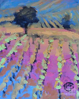 Vineyard Art Print by Kip Decker