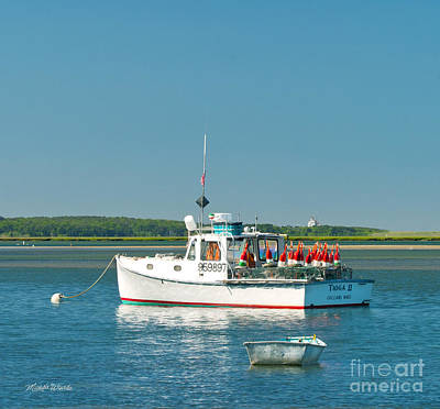 Photograph - Lobster Boat by Michelle Wiarda-Constantine