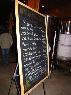 Bottles Photograph - Vineyards In Va - 121264 by DC Photographer