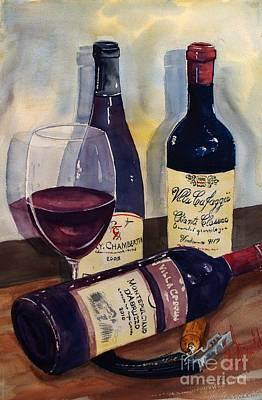Painting - Vino D'tavola by Gerald Miraldi
