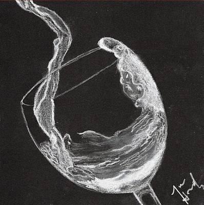 Vinos Drawing - Vino by Jose Hernandez
