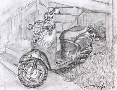 Vinos Drawing - Vino Muy Fino by Horacio Prada