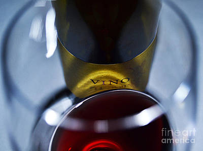 Vino Reflections Art Print by John Debar