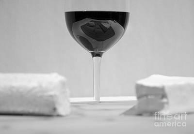 Vino Reflections Reveal Art Print