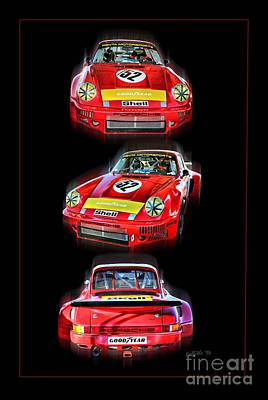 Porche Photograph - Vintage 19 by Tom Griffithe