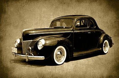 Photograph - Vintage 1940 Ford by Steve McKinzie