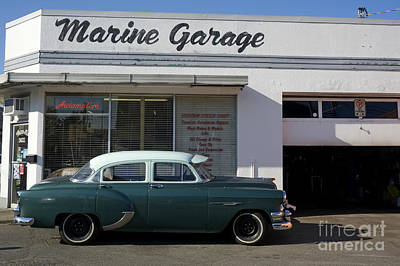 Photograph - Vintage 1954 Pontiac by John  Mitchell