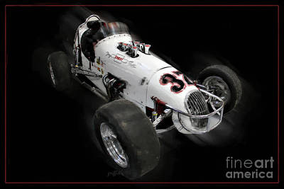Open-wheel Photograph - Vintage 36 by Tom Griffithe