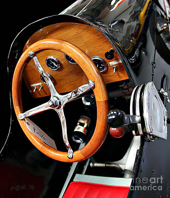 Open-wheel Photograph - Vintage 41 by Tom Griffithe