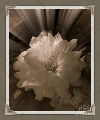 Photograph - Deco Vintage Accent by Bobbee Rickard