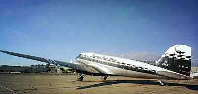 Photograph - Vintage Aeroplane 3 by Fraida Gutovich