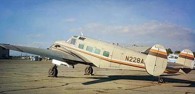 Photograph - Vintage Aeroplane by Fraida Gutovich