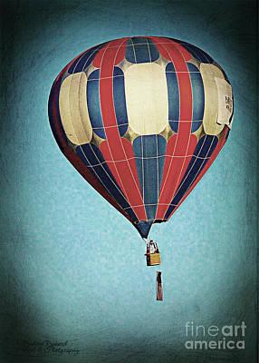 Photograph - Vintage Air Balloon  by Bobbee Rickard