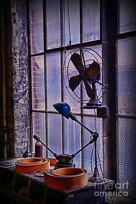 Vintage Air Conditioning Art Print