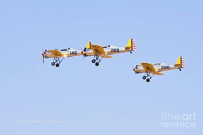 Photograph - Vintage Aircraft 1 by Richard J Thompson