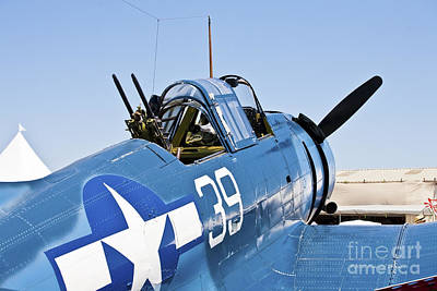 Photograph - Vintage Aircraft 13 by Richard J Thompson