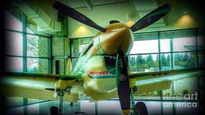 Photograph - Vintage Airplane Three by Susan Garren