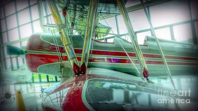 Photograph - Vintage Airplane Two by Susan Garren