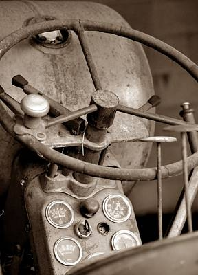 Photograph - Vintage Allis D14  by Deena Stoddard