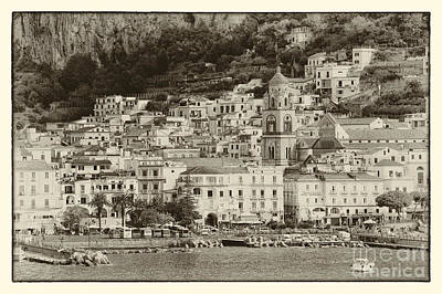 Photograph - Amalfi Village Vintage by Kate McKenna