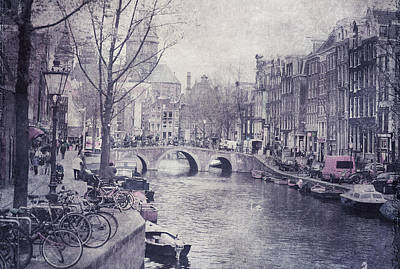 Photograph - Vintage Amsterdam by Jenny Rainbow