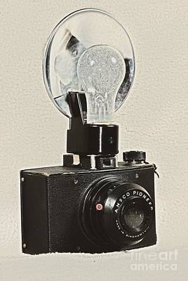 Photograph - Vintage Ansco Pioneer  by Mark McReynolds